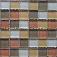 Wholesale Color Mixed Glass Tile,Crystal Crystal Glass Mosaic from china suppliers