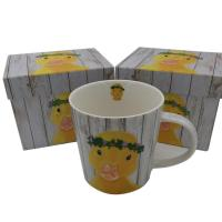 Wholesale Square Coffee Mug Packaging Lid And Base Box With Paper Lining from china suppliers