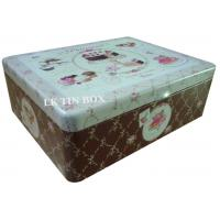 Buy cheap Metal Square Tin Box For Cup Cake Biscuit Storage from wholesalers