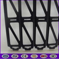 L Shaped Plastic Barrier Tray to Avoid Fruit and Vegtabels Fall Down on the Ground Manufactures