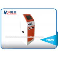 Buy cheap All In One Coin Counting Kiosk Equipped With Protective Glass / Audio Assistance from wholesalers