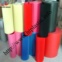 China flocked PVC sheet/rolls for packing on sale