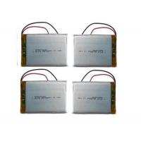 Buy cheap Customized Rc Helicopter Battery / 3.7 V 3000mah Lipo Battery , Long Cycle Life from wholesalers