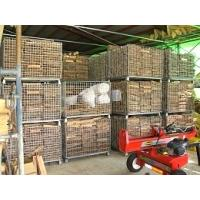 Buy cheap Foldable Steel Metal Wire Mesh Storage Cage Pallet Container Supermaket from wholesalers