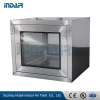 Buy cheap No Dead Angle SS Pass Box Deliver Small Objects To Reduce Clean Area Pollution from wholesalers