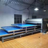 Buy cheap 3 Layers EVA Laminated Glass Machine Independent System High Efficiency from wholesalers