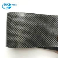 Buy cheap raw material real carbon fiber belt pu leather from wholesalers