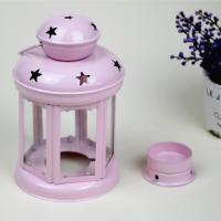 Buy cheap Portable Metal Hanging Lantern Iron Art Star Candle Lamp for Festival/Christmas Decoration from wholesalers