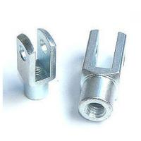 Buy cheap Galvanized Clevis Rod Ends yoke DIN 71752 , G12x24 for Electric Power System from wholesalers