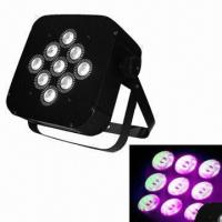 Buy cheap 3W x 9pcs Tri-Color Battery Power and Wireless DMX PAR Can  from wholesalers