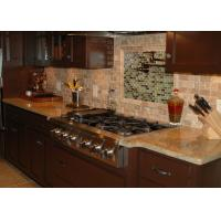 Buy cheap Latest Design Engineered Granite Countertops Montary Brand Waterfall Eased Edge from wholesalers