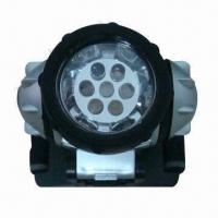 Buy cheap Camping LED Head Lamp, Rain-resistant, Available in Size of 7 x 7 x 4cm product