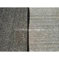 Buy cheap Customized Printed Cork Soft Rubber Sheet Underlayment for Outdoor Carpeting from wholesalers