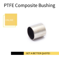 Buy cheap DIN 1494 / ISO 3547 Assembly Sleeve PTFE Bushes INOX Stainless Steel 316 Valve Stem Split Bushing Layers from wholesalers