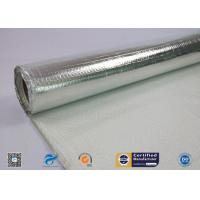 Buy cheap One Side Heat Reflective Aluminum Foil Coated Fiberglass Fabric from wholesalers