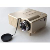 Home Entertainment Mini LED Projectors Golden Color Support JPEG MP4 Display Manufactures
