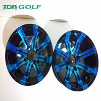 Buy cheap 12 Inch Wheel rim In Blue Colour  For Golf Cart Use from wholesalers