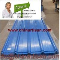 Buy cheap colored corrugated steel sheet for roofing MODEL NO.: YX28-205-820 from wholesalers