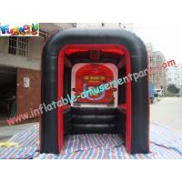 Buy cheap PVC Tarpaulin Inflatable Party Tent , Customized Inflatable Booth For Promotion product