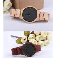 Fashion Charming Bewell Mens Wooden Watch 100% Natural Wood With Miyota 2035 Manufactures