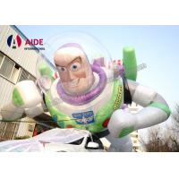 China Toy Story Giant Inflatable Carton Buzz Lightyear , Inflatable modle CE / SGS on sale