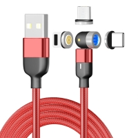 Buy cheap 540 Degree 3A Magnetic Micro USB Quick Charging Cable from wholesalers