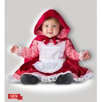 Buy cheap Red White Infant Baby Costumes Lil Red Riding Hood 6087 for Party from wholesalers