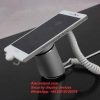 Buy cheap COMER security protection for single one port alarm for iphone with charging stand exhibition from wholesalers