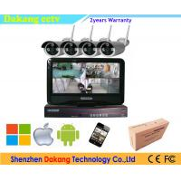 Buy cheap 2.4 GHZ Wireless NVR CCTV Camera Security Systems For Home from wholesalers