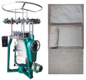Tubular bandage knitting machine