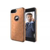 Buy cheap Brown Soft Profile iphone Tpu Case , Apple Iphone 7 Cell Phone Leather Case from wholesalers