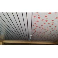 Buy cheap 20cm x 6mm Flat PVC Ceiling Panels No Aspiration Wooden Design from wholesalers