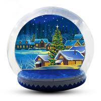 Buy cheap 5m Customized Inflatable Snow Globe For Party / Event / Promotion from wholesalers