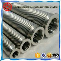 Flexible metal hose assembly with corrugated stainless steel core  for more extreme temperatures