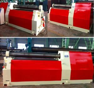China Heavy Duty Steel Sheet Bending Machine , Universal 4 Roll Bending Machine on sale