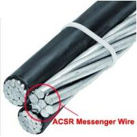 Buy cheap Durable Galvanized Steel Wire Cable For Overhead Transmission Line Of ABC Aerial Bundled Cable from wholesalers