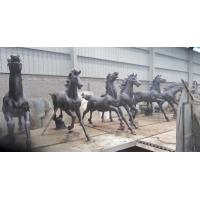Wholesale Large Modern cast Bronze Horse Sculptures from china suppliers