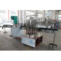 Buy cheap Semi - Automatic 1L Drinking Liquid Water Bottle Filling Machine / Bottling Packing Line from wholesalers