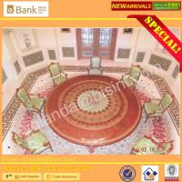 (BK0109-0012)Nouveau Luxury Royal Palace Dining Table Chairs Dining Room Furniture/ Marquetry Super Round Dining Set 12p Manufactures