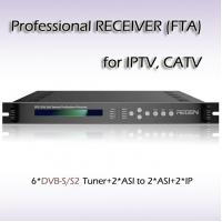 Buy cheap RFR1206_DVB-S/S2 Six-Channel Professional IPTV Receiver DVB-S/S2 TO ASI/IP Streaming DVB TO IP Gateway from wholesalers