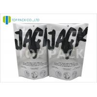 Eco Friendly Custom Printed Stand Up Pouch With Zipper , Heat Sealed Aluminum Foil Bags Manufactures