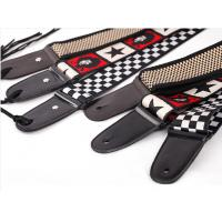 Buy cheap Customize Guitar Strap / Monogrammed Leather Guitar Strap With Buckle from wholesalers
