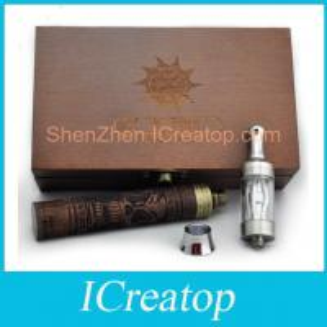 China China Wholesale-E fire Wooden e cig mod Variable Voltage X fire Vaporizer pen efire on sale