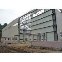 Buy cheap Hot Rolled Steel Frame Workshop , Pre Built Metal Shops Ready Made Structural Sections from wholesalers