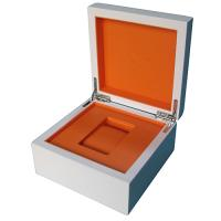 Buy cheap high shining single wooden watch box small MOQ fast delivery from wholesalers