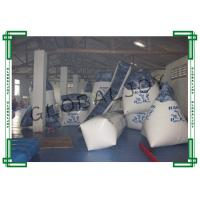 Buy cheap 19pcs Printing Inflatable Paintball Bunkers White for 10 People from wholesalers