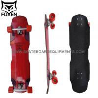 Buy cheap Fashion design 2 Wheel Drifting Skateboard ,Red color canadian maple 38.65*9.5skateboards from wholesalers