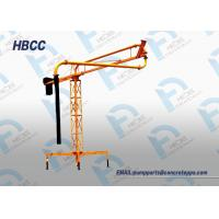Buy cheap Manual concrete boom placer Manual Concrere Pouring Boom, Manual Concrete Conveying Boom from wholesalers