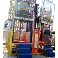 Buy cheap customized Hydraulic building lift shaft construction elevator rack and pinion lifts from wholesalers