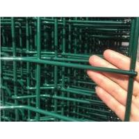 Buy cheap Green Vinyl PVC Coated Welded Mesh Fence Panels 3×100' Roll Smooth Surface from wholesalers